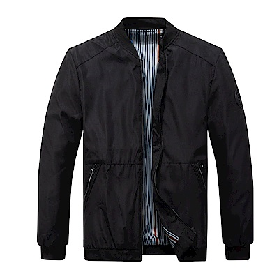 BuyGlasses 簡約帥氣標貼騎士外套