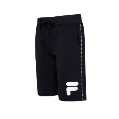 FILA #LINEA ITALIA 針織短褲-黑 1SHT-5404-BK