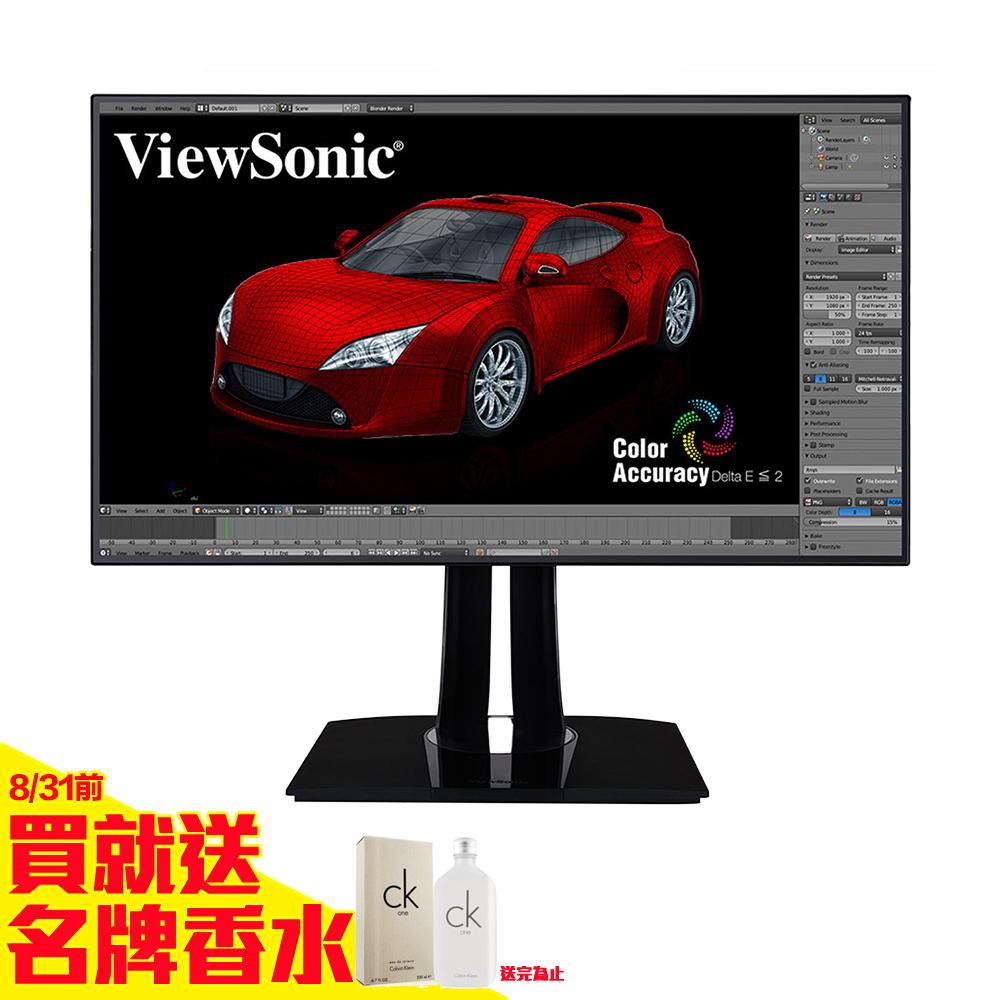 ViewSonic VP3268-4K 32型AH-IPS專業面板電腦螢幕