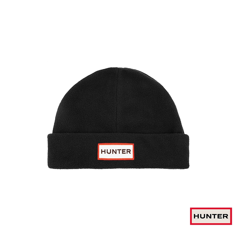 HUNTER - 配件-刷毛針織帽 - 黑