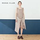 【MOSS CLUB】小清新拼接-洋裝(二色)