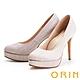 ORIN 閃耀金蔥金屬花嫁 女 高跟鞋 粉金 product thumbnail 1
