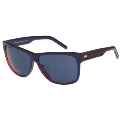 Dior Homme BLACKTIE系列 太陽眼鏡(深藍配紅)