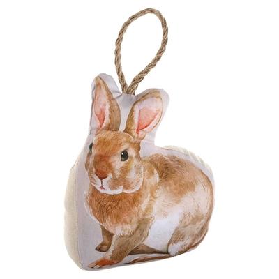 《VERSA》動物布質門擋(棕兔)