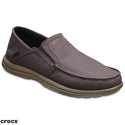 Crocs 卡駱馳 (男鞋) 聖克魯茲敞篷便鞋 204834-23B