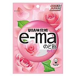 味覺糖 e-ma喉糖-玫瑰味(50g)