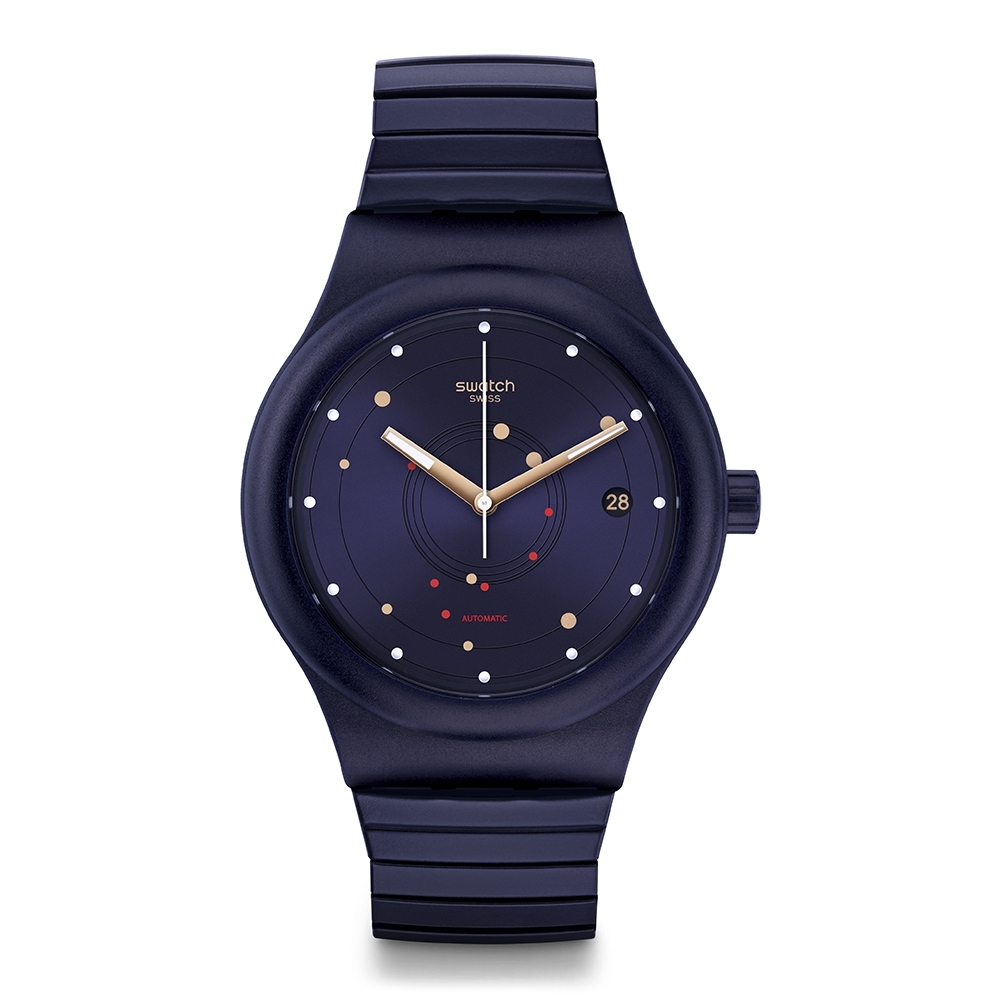 Swatch 51號星球機械錶 SISTEM SEA FLEX SMALL-42mm