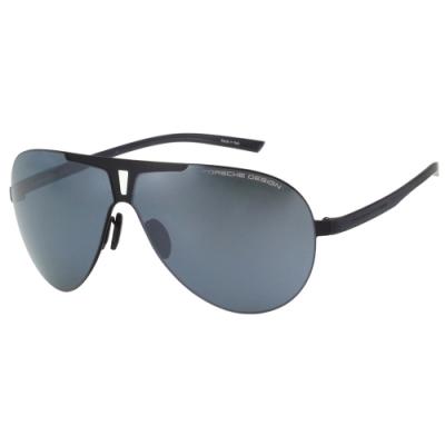 Porsche Design 保時捷 水銀面 太陽眼鏡(黑色)P8656-A