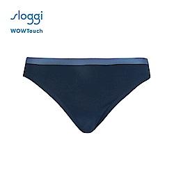 sloggi WOWTouch系列中腰三角內褲 霧夜藍