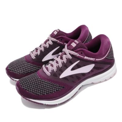 Brooks 慢跑鞋 Revel 低筒 運動 女鞋