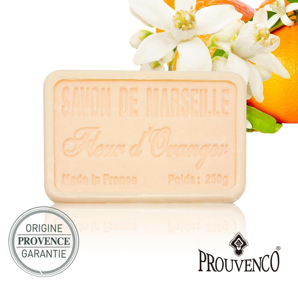 法國PROUVENCO 普羅旺詩香氛馬賽皂-橘子花x1入