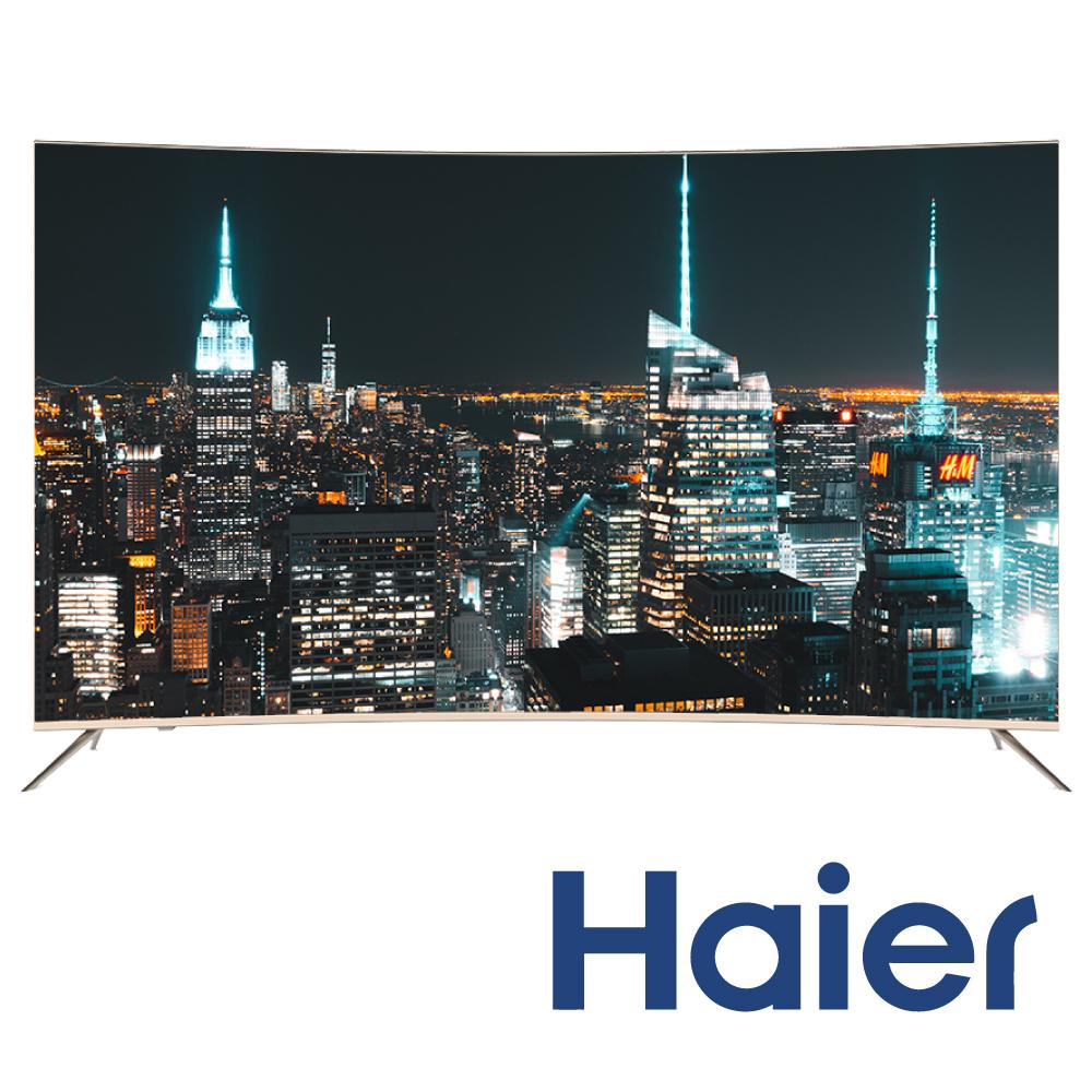 [無卡分期-12期] Haier海爾 55型 4K曲面顯示器55Q6500U