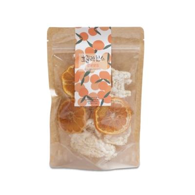 韓國【Jeju Mami】濟州媽咪 濟州純淨柑橘米餅脆片(25g)