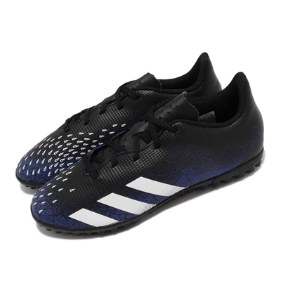 adidas 足球鞋 Predator Freak 4 TF 男鞋 海外限定 草地球場 避震 包覆 運動 黑 藍 FY0634