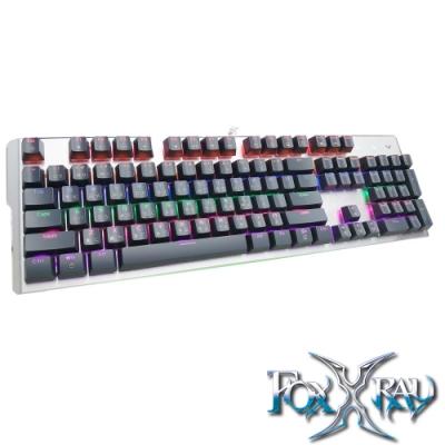 FOXXRAY 渦輪戰狐機械電競鍵盤(FXR-HKM-33/青軸)