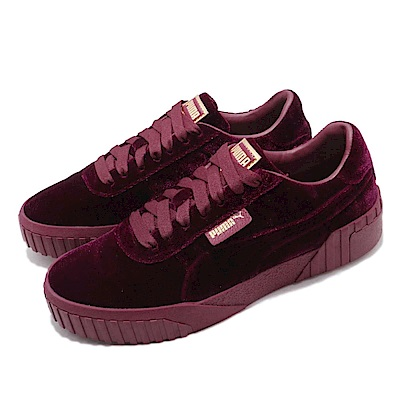 Puma 休閒鞋 Cali Velvet 低筒 女鞋