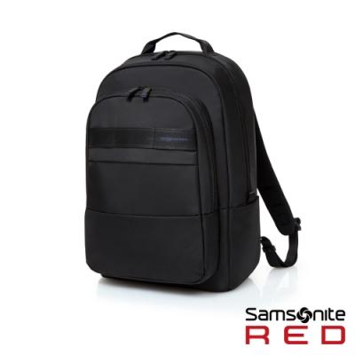 Samsonite RED 多口袋個性款筆電後背包15.6(黑)