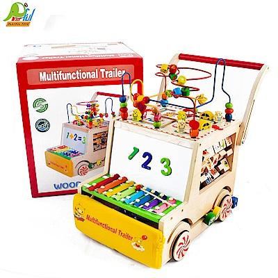 Playful Toys頑玩具多功能木製推車