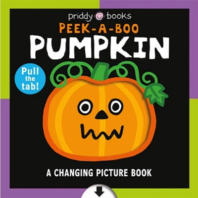 Peek-A-Boo Pumpkin A Changing Picture Book 萬聖節變色操作書(美國版)