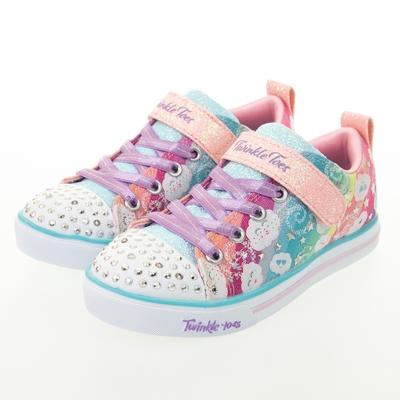 SKECHERS 女童系列 燈鞋 SPARKLE LITE - 314759LLPMT