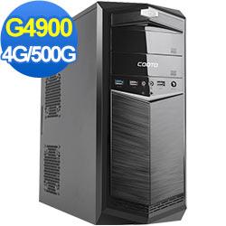 技嘉B360平台[明月獸魂]雙核效能電腦