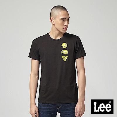 Lee X Marvel聯名短袖圓領TEE-黑
