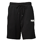 PUMA-男性流行系列Logo Tower短褲-黑色-歐規