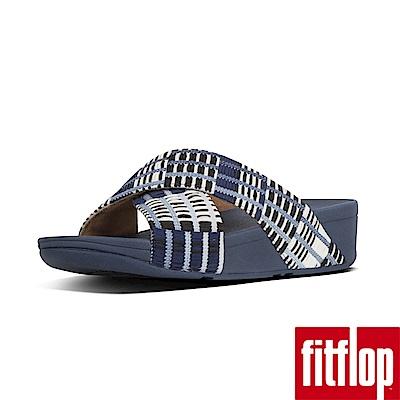FitFlopLULU ART-DENIM厚底涼鞋