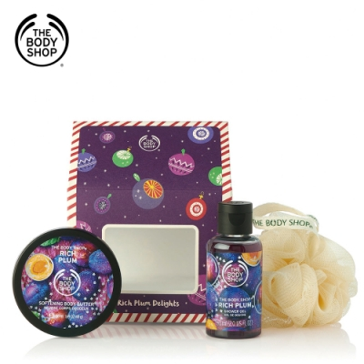 The Body Shop 紫梅糖果屋原裝禮盒
