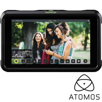 ATOMOS 阿童木 SHINOBI 隱刃 SDI HDMI 5吋 4K 監看螢幕 (公司貨) 監視器 ATOMSHBS01