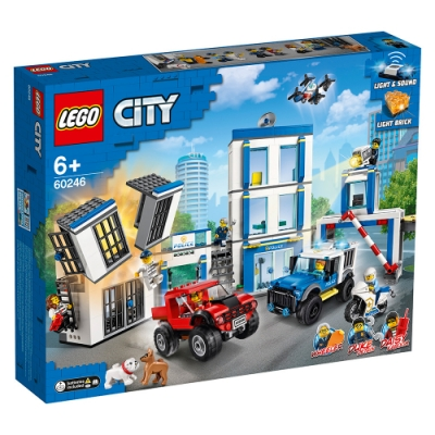 樂高LEGO 城市系列 - LT60246 警察局