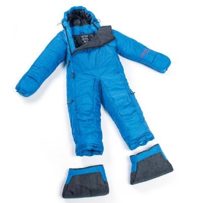 Selk Bag 神客睡袋人 5G Original 化纖保暖睡袋 雨滴藍 7°C