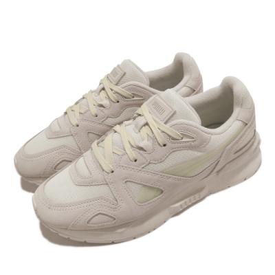 Puma 休閒鞋 Mirage Mox Mono 男女鞋 麂皮 網布 穿搭 情侶鞋 奶茶色 米 灰 37516503