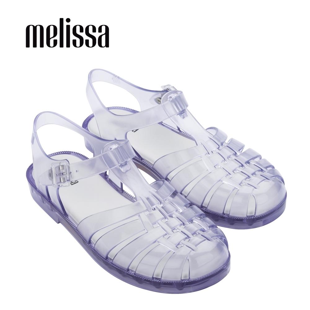POSSESSION經典純色漁夫鞋-透明