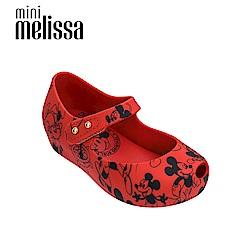 Melissa X Mickey 娃娃鞋寶寶款-紅色