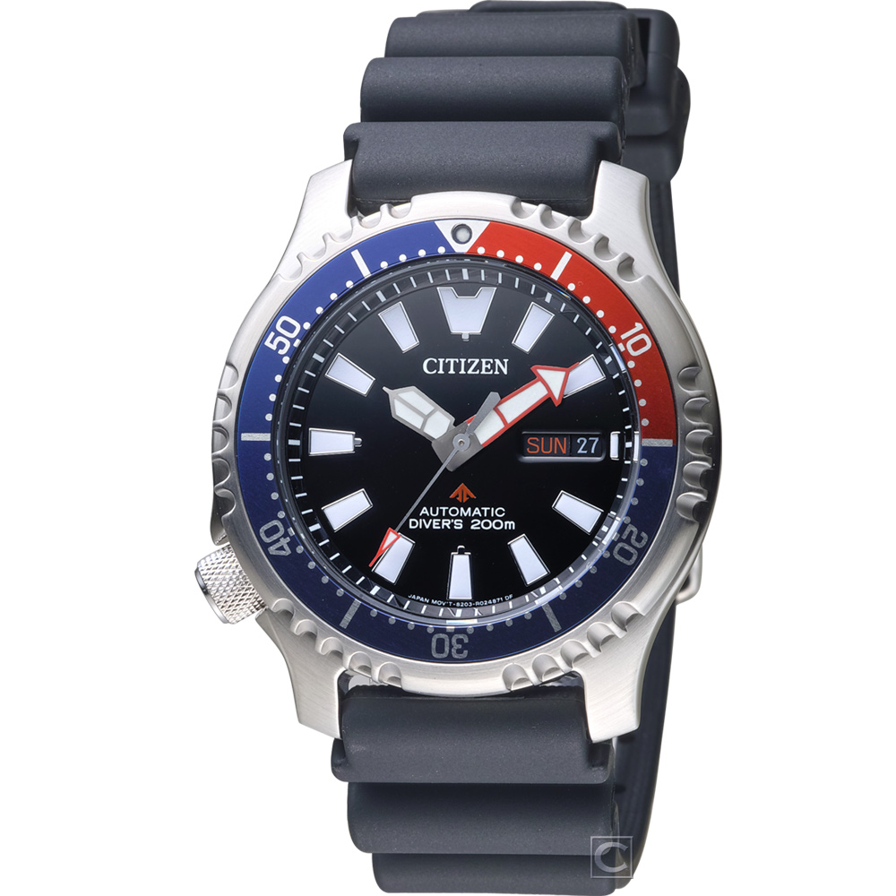 CITIZEN PROMASTER 黑豹特遣隊機械錶(NY0088-11E )42mm @ Y!購物