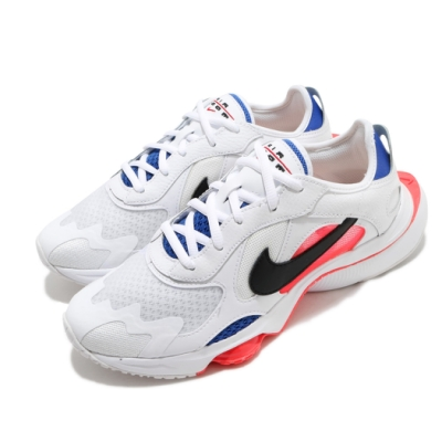 Nike 休閒鞋 W Air Zoom Division 女鞋 氣墊 舒適 緩震 潮流 穿搭 白 藍 CK2950101