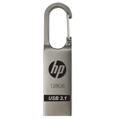 HP惠普 x760w 128GB USB 3.1 Gen1 金屬鉤環造型隨身碟