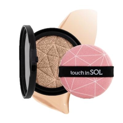 韓國Touch in SOL 美顏濾鏡水光遮瑕氣墊粉餅15g(補充包)