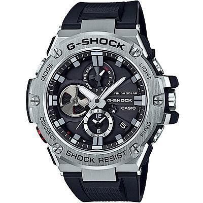 G-SHOCK 藍牙連線 太陽能計時錶(GST-B100-1A)-黑/53.8mm