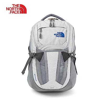 The North Face北面女款灰色舒適防護雙肩背包|3KV19QN
