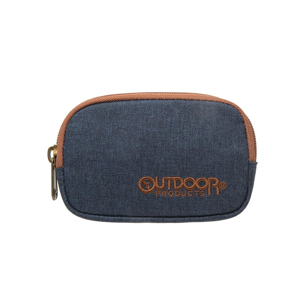 【OUTDOOR】都會雅痞小物2.0-零錢包-藍色 ODS18K02TNY
