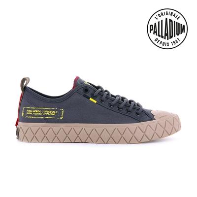 PALLADIUM PALLA ACE SUPPLY LO軍風格紋厚底鞋-中性-灰