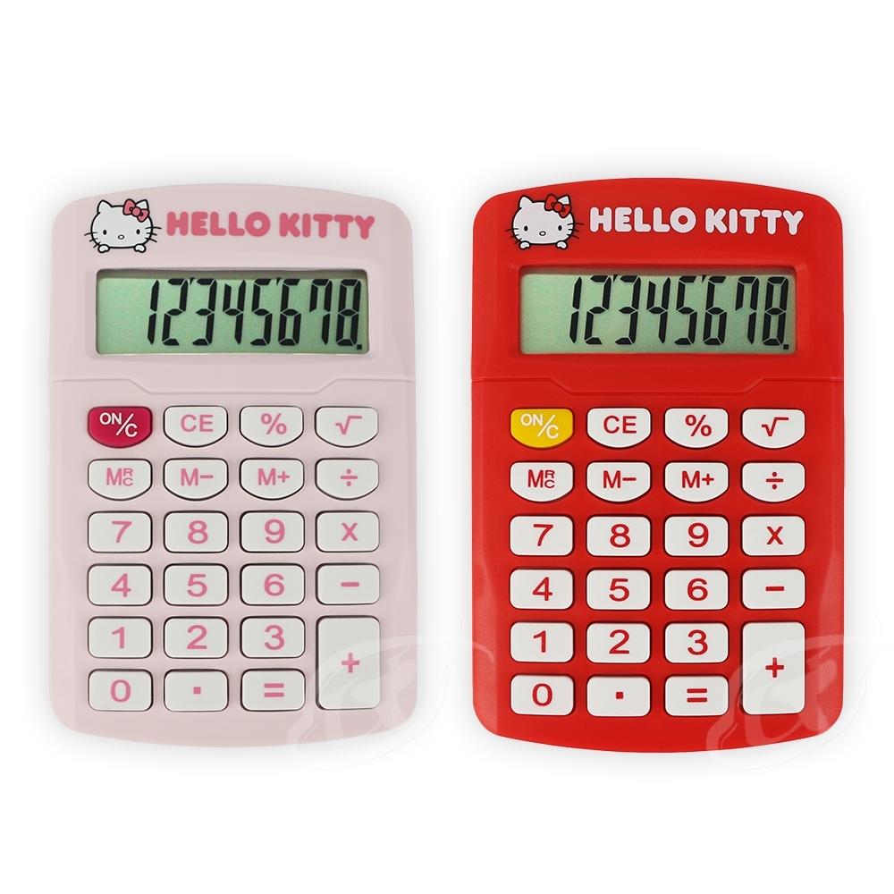 E-MORE Sanrio迷你系列-Hello Kitty 8位數計算機 KT-8