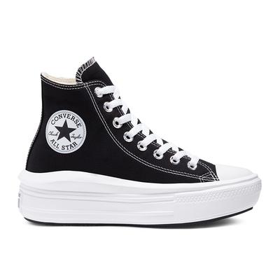 CONVERSE CTAS MOVE HI 高筒 厚底 百搭 輕量 女 休閒鞋 黑色 568497C