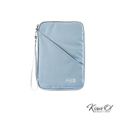 Kiiwi O! UltraLight系列 護照包/證件包 LUCE 霧灰藍