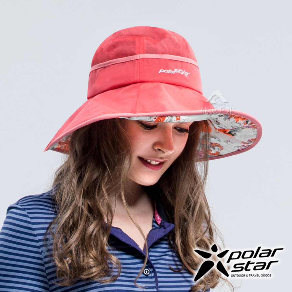 PolarStar 雪紡圓盤帽『桔紅』P16517