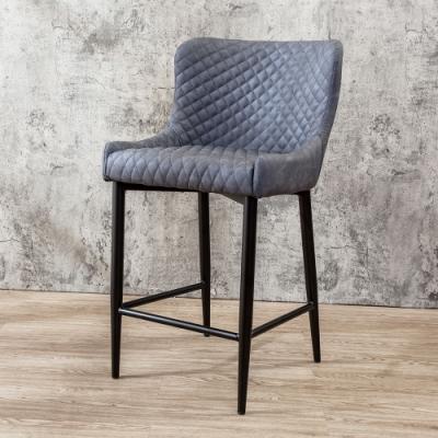 Boden-迪洛工業風吧台椅/吧檯椅/高腳椅(二入組合)-49x58x88cm