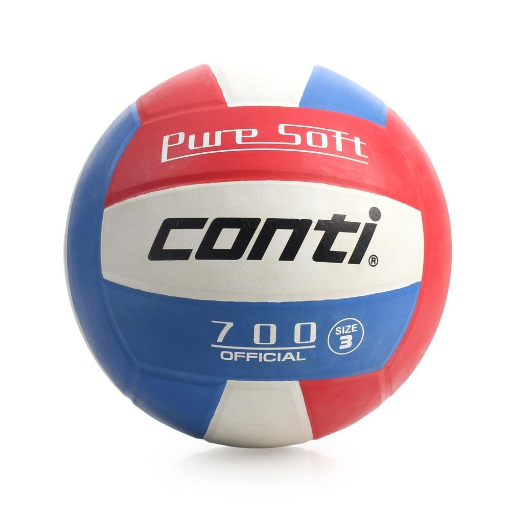 conti 3號球 超軟橡膠排球-排球協會指定用球 V700-3-RWB 藍紅