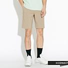 H:CONNECT 韓國品牌 男裝-輕薄微彈收繩短褲-卡其